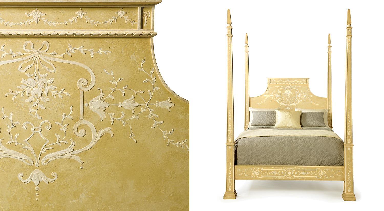 Patina Furniture Beds Obelisco Bed